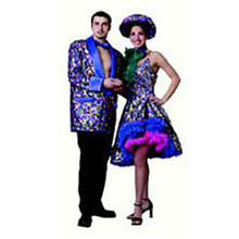 Mardi Gras Male Deluxe Adult Costume