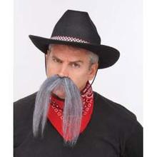 Mustache Cowboy Grey