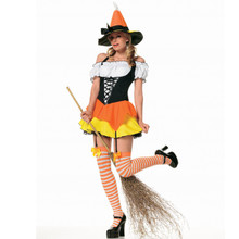 Witch  Kandy Korn Costume Adult