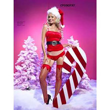 Sexy Santa's Little Helper Adult Costume