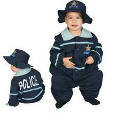 Police Officer Costume Bunting