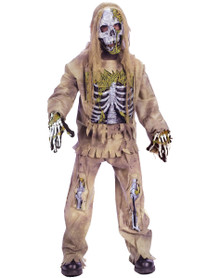 Skeleton Zombie Costume Child