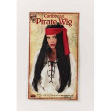 Pirate Wig W/ Scarf