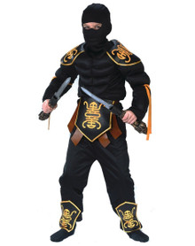 Ninja Warrior Muscle Costume Child