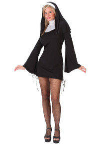 Nun Naughty Costume Adult