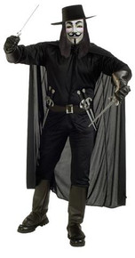 V FOR VENDETTA COSTUME ADULT