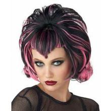 Wig Goth Flip Black/Pink