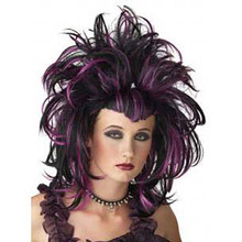 Black/Purple Evil Sorceress Wig