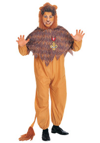 Cowardly Lion Costume Adult Std