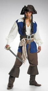 CAPTAIN JACK SPARROW ADULT DLX