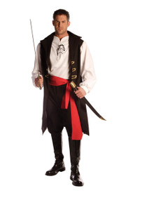 Captain Cutthroat Pirate Adult Costume