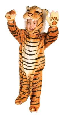 TIGER PLUSH COSTUME TODDLER