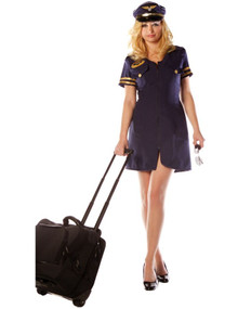 Stewardess Costume Adult XL