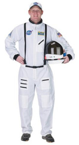 ASTRONAUT SUIT ADULT WHITE