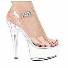 Shoes Brook 601 Clear Platform