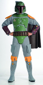 Boba Fett Costume - Star Wars - Adult Size - Deluxe