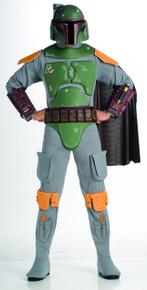Boba Fett Costume - Star Wars - Adult Size - Deluxe