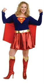 SUPERGIRL COSTUME PLUS SIZE ADULT