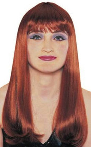 Wig Mistress W/ Bangs Natural Red