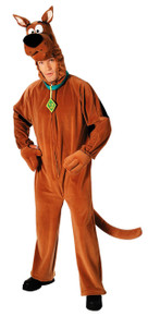 Scooby Doo Plush Costume Adult Std