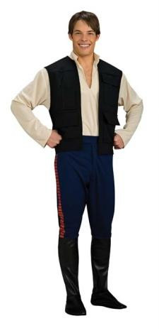 HAN SOLO COSTUME DLX ADULT