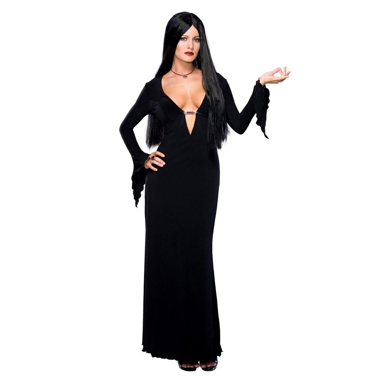 Morticia Addams Plus Size Adult Costume