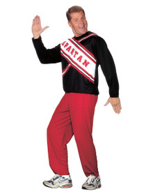 Spartan Cheerleader Male Costume Adult