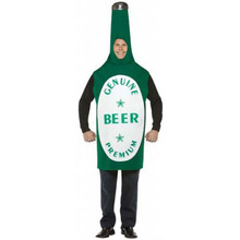 Beer Bottle Costume Adult Std