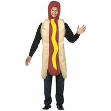 Hot Dog Costume Adult Std