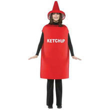 Ketchup Costume Adult Std