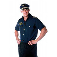 Pilot Shirt Men's Adult Std