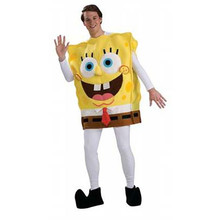 Spongebob Costume Deluxe Adult