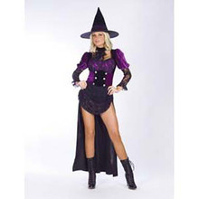 Witch Burlesque Costume Adult*Clearance