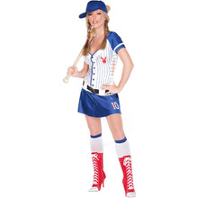 Playboy Homerun Hottie Costume Adult*Clearance