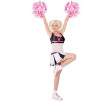 Playboy Cheerleader Costume Adult *Clearance