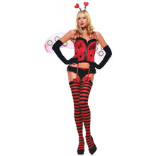 Ladybug Sweetheart Costume Adult*Clearance