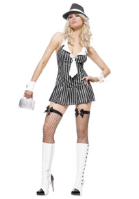 Miss Mafia Costume Adult *Clearance