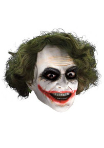 Joker Latex Mask W/ Hair