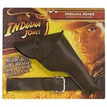 Indiana Jones Gun W/ Belt & Holster