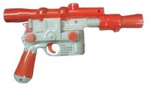 Han Solo Blaster Pistol - Star Wars - Plastic