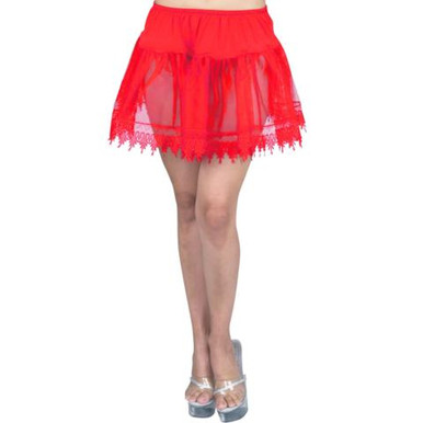 PETTICOAT RED TEARDROP