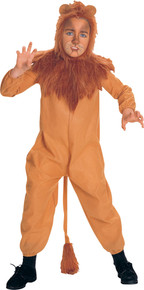 The Cowardly Lion Child Costume