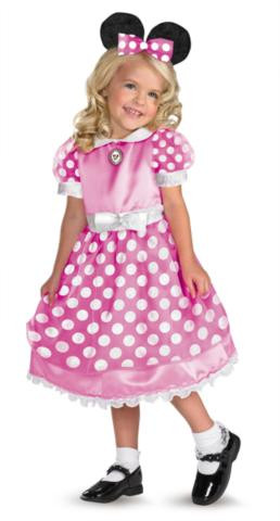 CLUBHOUSE MINNIE PINK COSTUME CHILD