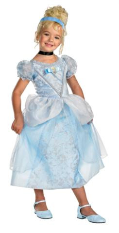 CINDERELLA DLX COSTUME CHILD