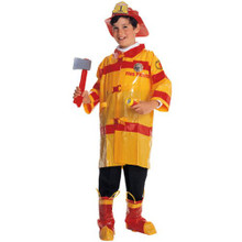 Fireman Costume Child  Yellow