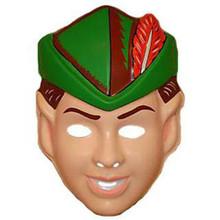 Robin Hood Vintage Plastic Mask