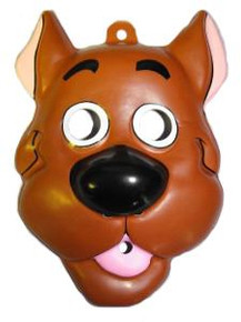 SCOOBY DOO VINTAGE PLASTIC MASK