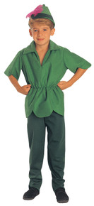 Peter Pan Economy Child Costume