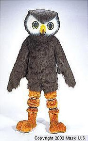 OWL MASCOT COSTUME PURCHASE