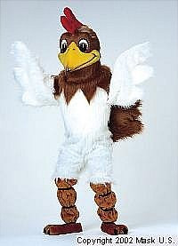 Rooster Mascot Costume (Purchase)